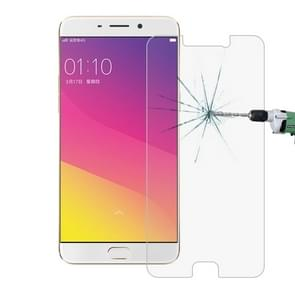 OPPO R9 Plus 0.26mm 9H Surface Hardness 2.5D Explosion-proof Tempered Glass Screen Film