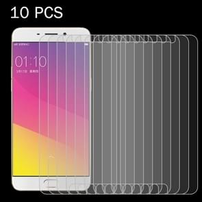 10 PCS OPPO R9 Plus 0.26mm 9H Surface Hardness 2.5D Explosion-proof Tempered Glass Screen Film