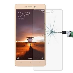 10 PCS for  Xiaomi Redmi 3 & 3S 0.26mm 9H Surface Hardness 2.5D Explosion-proof Tempered Glass Screen Film