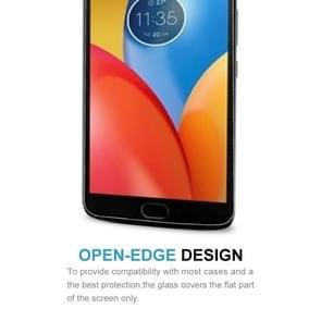 10 stuks voor Motorola Moto C Plus 0.3mm 9H oppervlaktehardheid 2.5D explosieveilige gehard glas volledig scherm Film