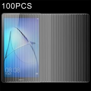 100 PCS for  HUAWEI MediaPad T3 7.0 inch 0.3mm 9H Surface Hardness Full Screen Tempered Glass Screen Protector