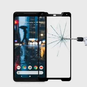 MOFI for Google Pixel 2 XL 9H Surface Hardness 2.5D Arc Edge Full Screen Tempered Glass Film Screen Protector(Black)
