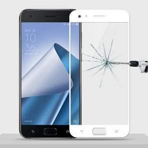 MOFI for Asus Zenfone 4 Pro (ZS551KL) 9H Surface Hardness 2.5D Arc Edge Full Screen Tempered Glass Film Screen Protector (White)