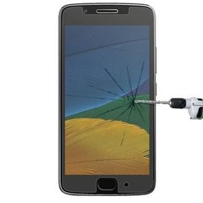 Voor Motorola Moto G (5e Gen.) 0 26 mm 9H oppervlaktehardheid Explosieveilig niet-volledig scherm getemperd glas scherm Film