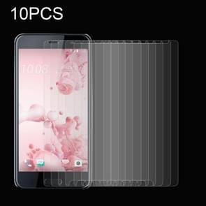 10 Stuks HTC U Ultra Gehard glazen schermprotector 0.26mm 9H hardheid