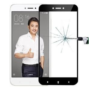 MOFI Xiaomi Redmi 4X 0.3mm 9H Hardness 2.5D Explosion-proof Full Screen Tempered Glass Screen Film(Black)