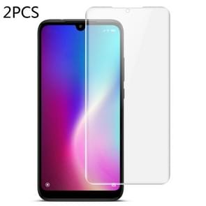 2 PCS IMAK 0.15mm Curved Full Screen Protector Hydrogel Film Front Protector for Xiaomi Redmi 7(Transparent)
