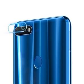0.3mm 2.5D Transparent Rear Camera Lens Protector Tempered Glass Film for Huawei  Y7 Prime (2018)