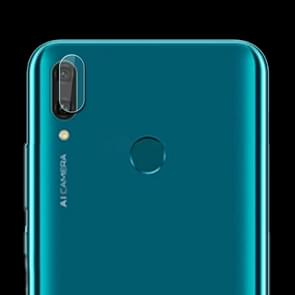 0.3mm 2.5D Transparent Rear Camera Lens Protector Tempered Glass Film for Huawei Y9 (2019)