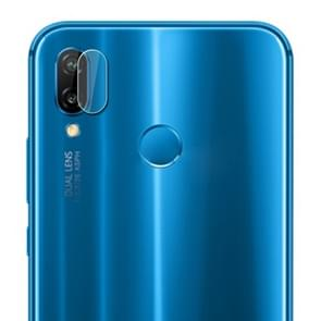 0.3mm 2.5D Transparent Rear Camera Lens Protector Tempered Glass Film for Huawei Nova 3e