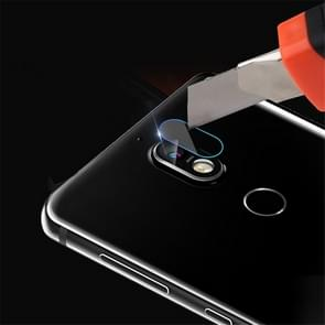 0.3mm 2.5D Round Edge Rear Camera Lens Tempered Glass Film for Nokia 7