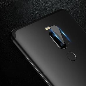 0.3mm 2.5D Round Edge Rear Camera Lens Tempered Glass Film for Meizu X8