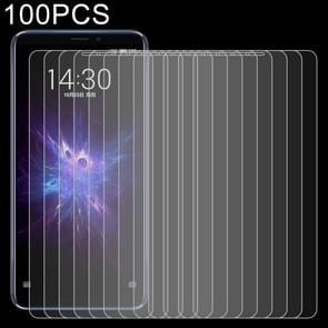 100 stuks 0 26 mm 9H 2.5D explosieveilige getemperd glas Film voor Meizu toelichting 8