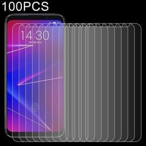 100 stuks 0 26 mm 9H 2.5D explosieveilige getemperd glas Film voor Meizu 16 X