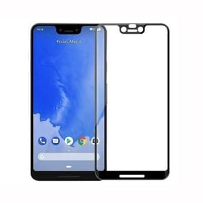 MOFI 9H 3D Curved Tempered Glass Film for Google Pixel 3 XL (Black)