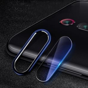 Scratchproof Mobile Phone Metal Rear Camera Lens Ring + Rear Camera Lens Protective Film Set  for Xiaomi Redmi K20 Pro (Blue)