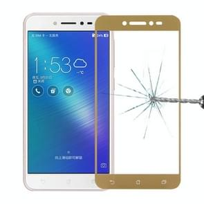 For Asus ZenFone Live / ZB501KL 0.26mm 9H Surface Hardness 2.5D Full Screen Tempered Glass Screen Protector(Gold)