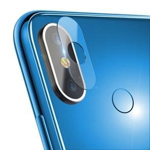 0.3mm 2.5D Transparent Rear Camera Lens Protector Tempered Glass Film for Xiaomi Mi Max 3