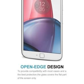 10 PCS for Motorola Moto G4 Plus 0.3mm 9H Surface Hardness 2.5D Explosion-proof Non-full Screen Tempered Glass Screen Film