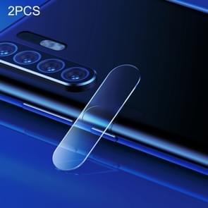 2 PCS Baseus 0.2mm Rear Camera Lens Tempered Glass Film for Huawei P30 Pro