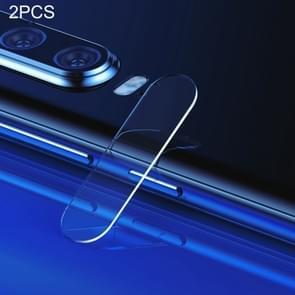 2 PCS Baseus 0.2mm Rear Camera Lens Tempered Glass Film for Huawei P30