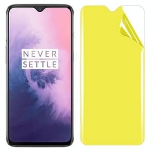 0.3mm TPU Full Screen Protection Soft film for Oneplus 7