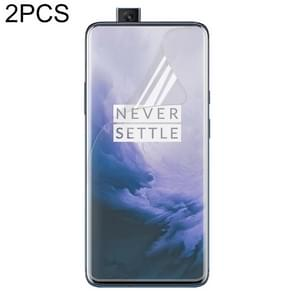 2 Piece 0.3mm TPU Full Screen Protection Soft film for Oneplus 7 Pro