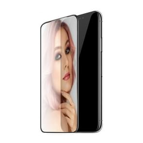 Hoco Mirror Full Screen Beauty Tempered Film for iPhone XS Max (Black)