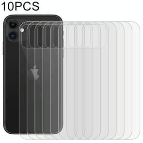 10 PCS For iPhone 11 Soft Hydrogel Film Full Cover Back Protector