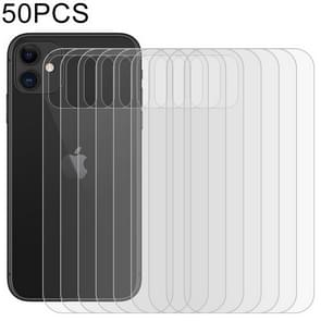 50 PCS For iPhone 11 Soft Hydrogel Film Full Cover Back Protector