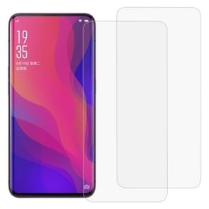2 PCS 3D Curved Full Cover Soft PET Film Screen Protector for OPPO Find X