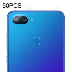 50 PCS Soft Fiber Back Camera Lens Film for Xiaomi Mi 8 Lite