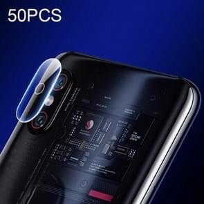 50 PCS Soft Fiber Back Camera Lens Film for Xiaomi Mi 8 Explorer