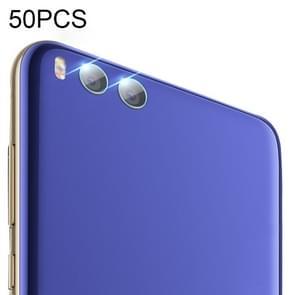 50 PCS Soft Fiber Back Camera Lens Film for Xiaomi Mi 6