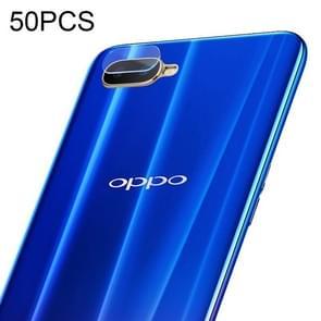 50 PCS Soft Fiber Back Camera Lens Film for OPPO R15X