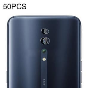 50 PCS Soft Fiber Back Camera Lens Film for OPPO Reno Z