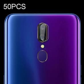 50 PCS Soft Fiber Back Camera Lens Film for OPPO A9