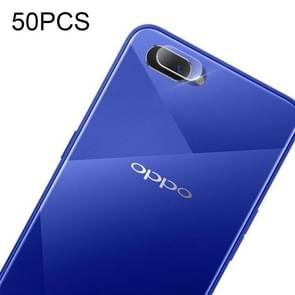 50 PCS Soft Fiber Back Camera Lens Film for OPPO A5