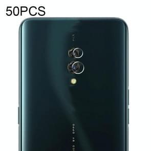 50 PC'S zachte Fiber terug camera lens film gehard glas film voor OPPO K3