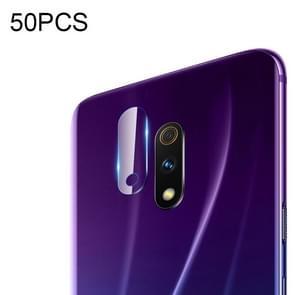 50 PCS Soft Fiber Back Camera Lens Film for OPPO Realme X