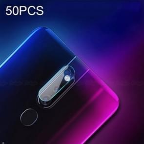 50 PCS Soft Fiber Back Camera Lens Film for OPPO F11 Pro