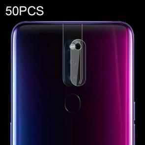 50 PCS Soft Fiber Back Camera Lens Film for OPPO F11