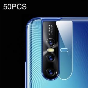 50 PCS Soft Fiber Back Camera Lens Film for Vivo X27