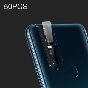 50 PCS Soft Fiber Back Camera Lens Film for Vivo S1