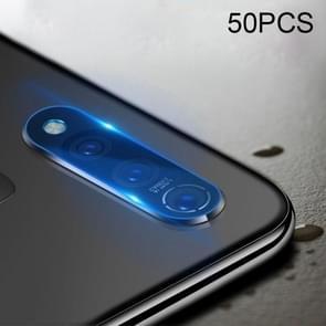 50 PCS zachte Fiber terug camera lens film gehard glas film voor vivo Z5x