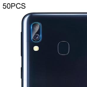 50 PCS Soft Fiber Back Camera Lens Film for Galaxy A40