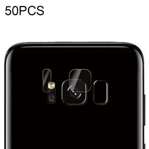 50 PCS Soft Fiber Back Camera Lens Film for Galaxy S8