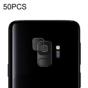 50 PCS Soft Fiber Back Camera Lens Film for Galaxy S9