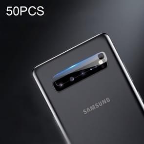 50 PCS Soft Fiber Back Camera Lens Film for Galaxy S10