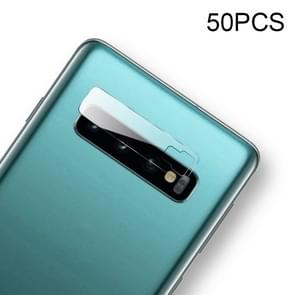 50 PCS Soft Fiber Back Camera Lens Film for Galaxy S10 Plus